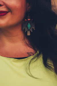 Dime Store Cowgirl Earrings