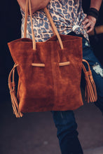 Load image into Gallery viewer, Seriously Suede Tote