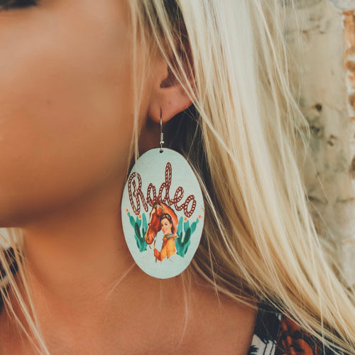 Ropin' Rodeo Earrings