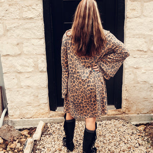 Fall in Leopard Dress