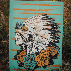 Rose Chief Canvas Print