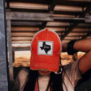 Texas Love Cap