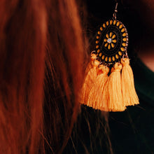 Load image into Gallery viewer, Carousel Tassel Earrings