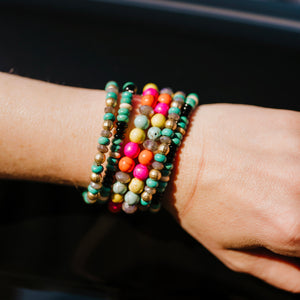 Snow Cone Stacker Bracelets