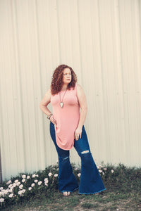 Antique Rose Tunic Tank