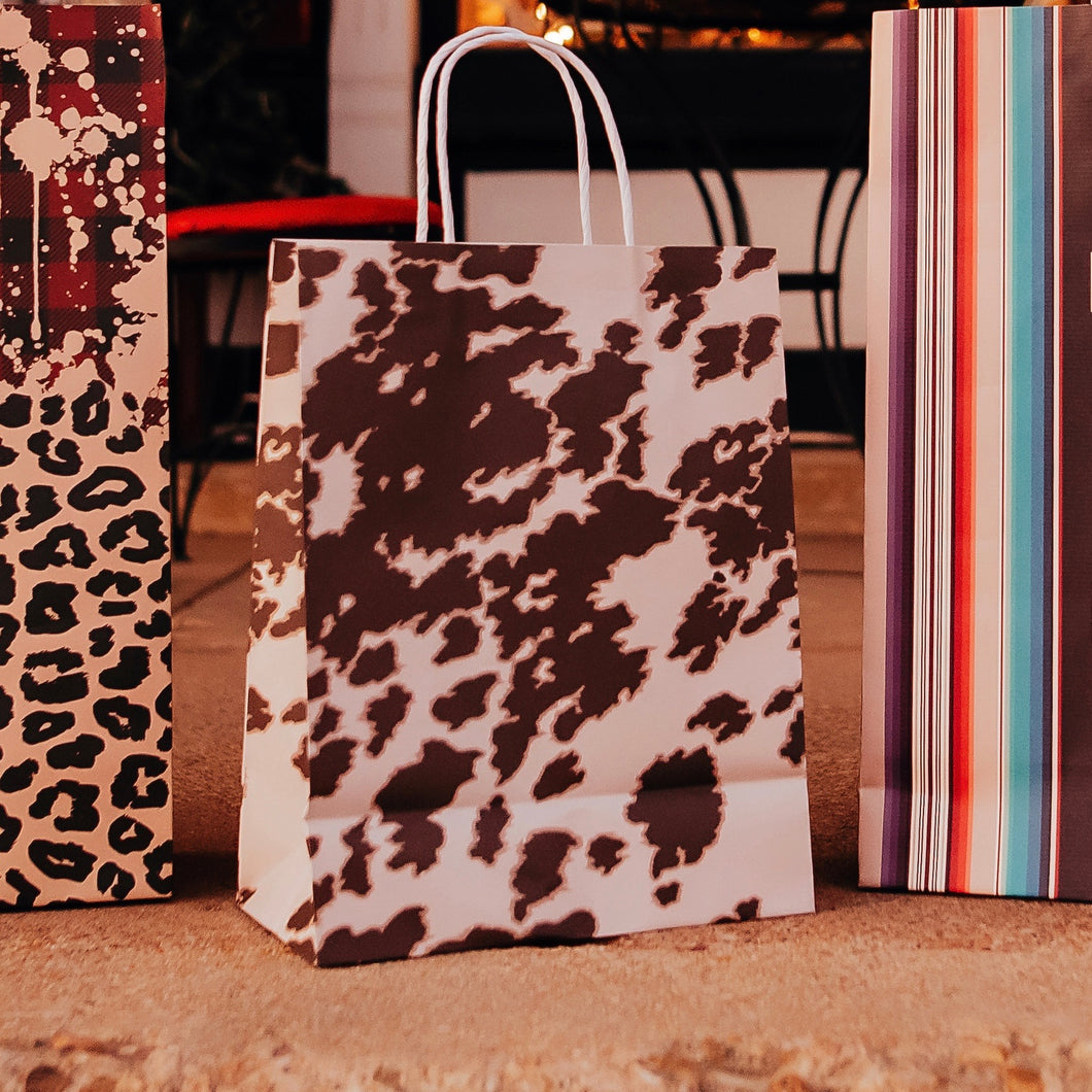 Medium Cowhide Gift Bags
