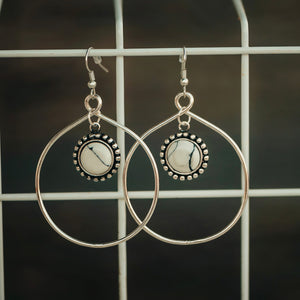 Dainty Doll Earrings *white*