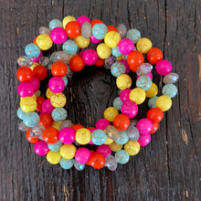 Load image into Gallery viewer, Snow Cone Stacker Bracelets