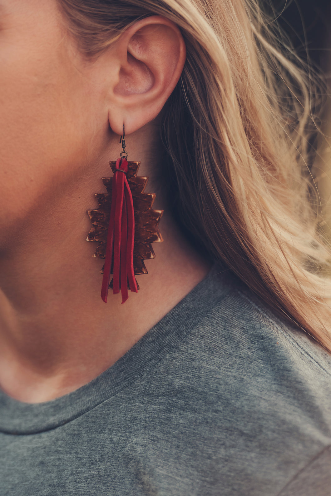 Red Dirt Road Earrings