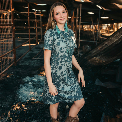 Cowtown Tshirt Dress