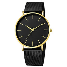 Cargar imagen en el visor de la galería, Simplicity Modern Quartz Watch Women Mesh Stainless Steel Bracelet High Quality Casual Wrist Watch for Woman Montre Femme D20