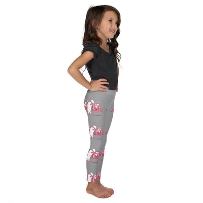 Bear Lodge on Grey Leggings - Mix and Match with Long Sleeve Top - ZERO TO THREE CLUB