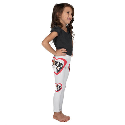 BFF on White Leggings - Mix and Match with Long Sleeve Top - ZERO TO THREE CLUB