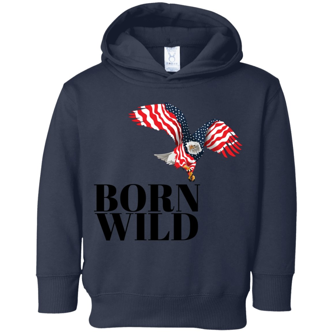 "Sweatshirts ""Born Wild"" Fleece Hoodie - 3 colors - ZERO TO THREE CLUB Sweatshirts"