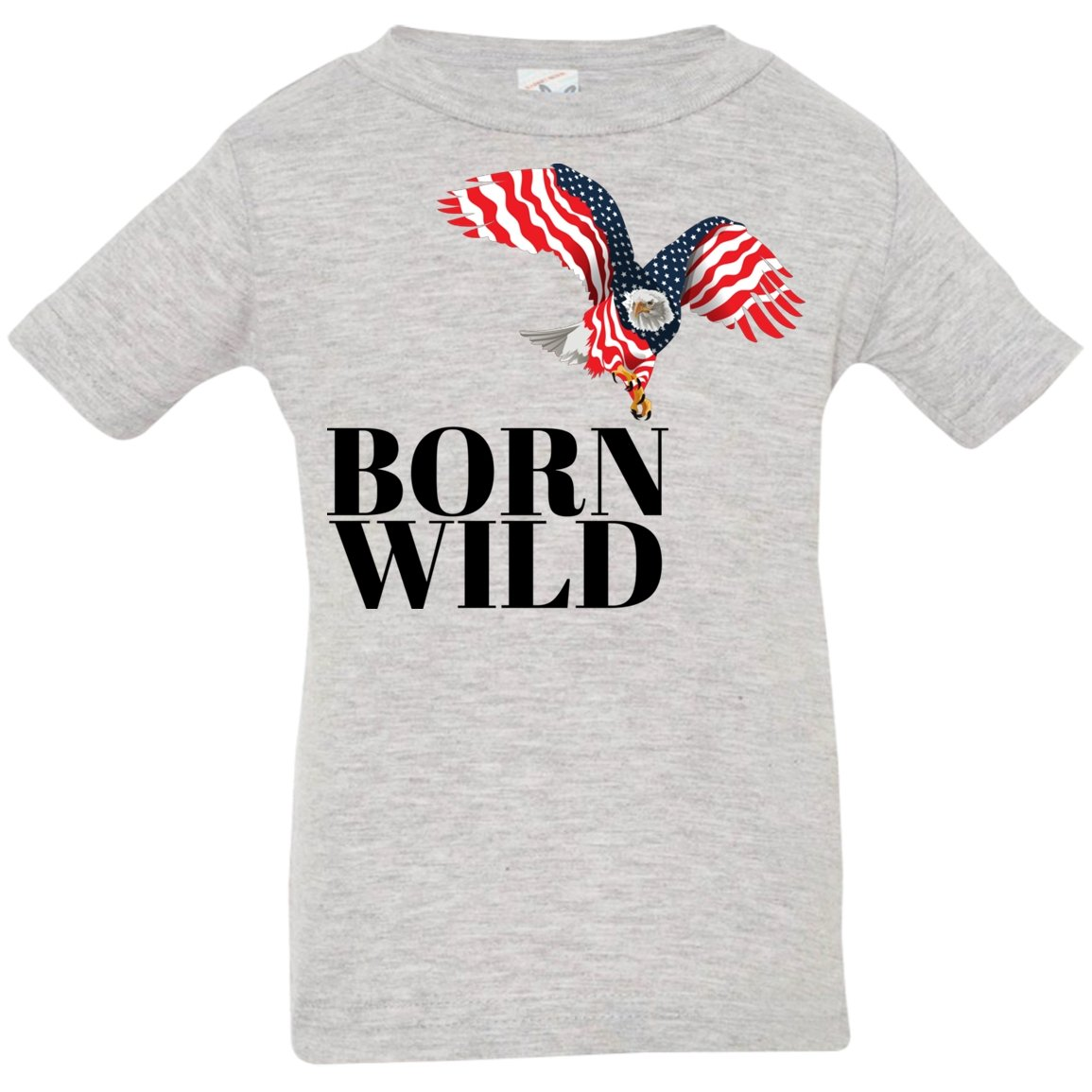 "T-Shirts ""Born Wild"" Short Sleeve T-Shirt - 5 colors - ZERO TO THREE CLUB T-Shirts"
