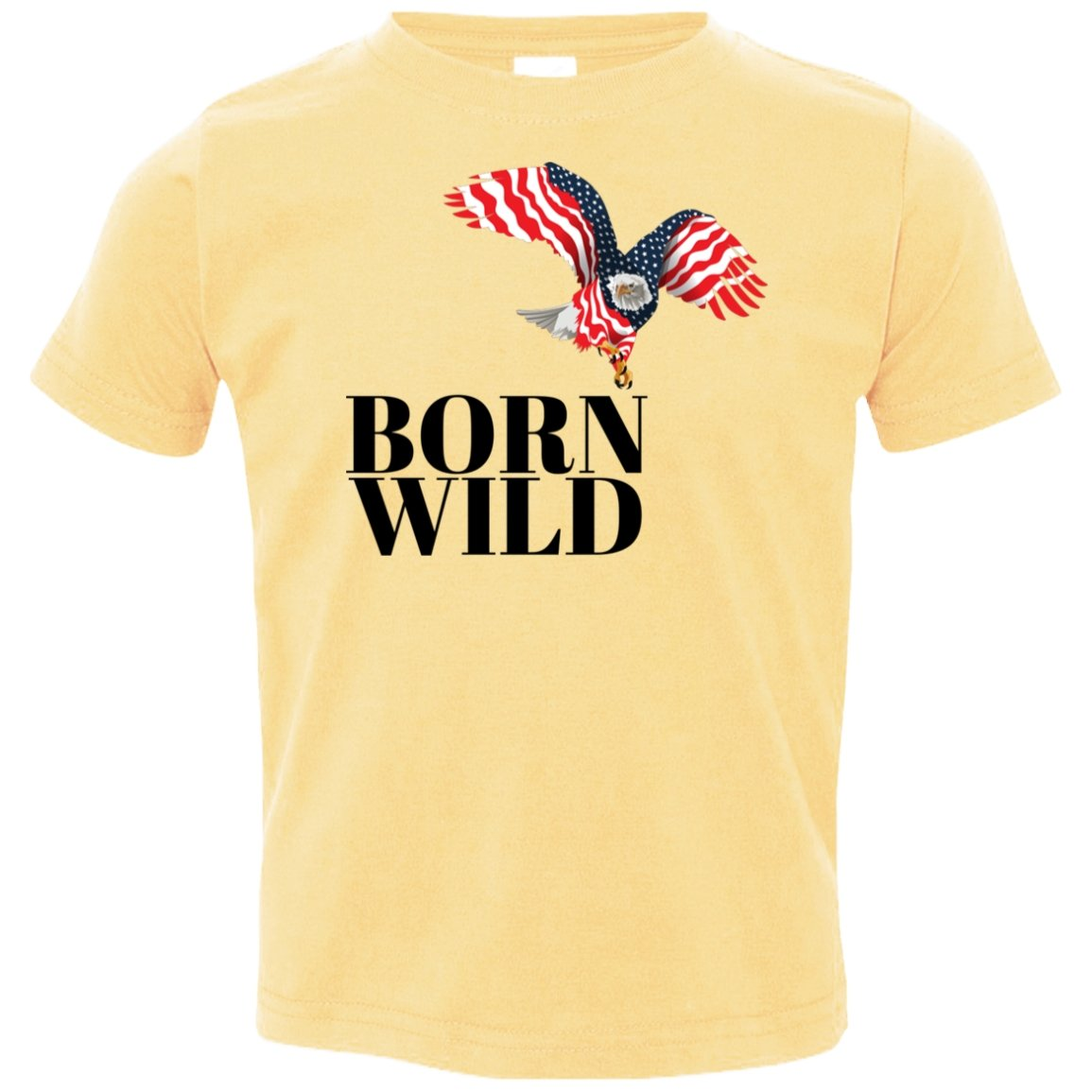 "T-Shirts ""Born Wild"" Short Sleeve T-Shirt - 6 colors - ZERO TO THREE CLUB T-Shirts"