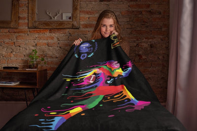 Blankets Champion Black Arctic Fleece Blanket - ZERO TO THREE CLUB Blankets