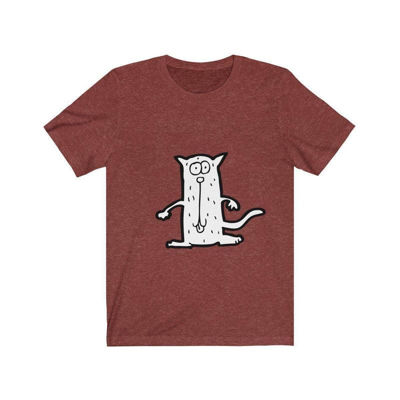 "T-Shirt ""Cool Cat"" Unisex Jersey Short Sleeve Tee - Highest Quality Cotton - Pick your color - ZERO TO THREE CLUB T-Shirt"