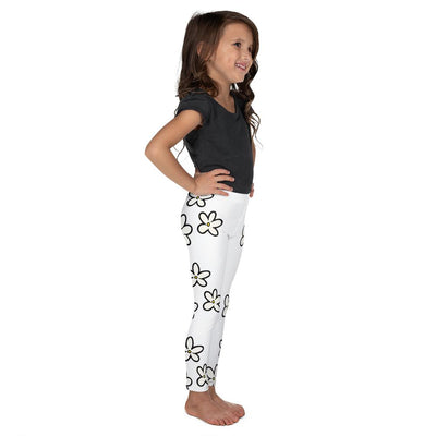 Daisies on White Leggings - Mix and Match with Long Sleeve Top - ZERO TO THREE CLUB