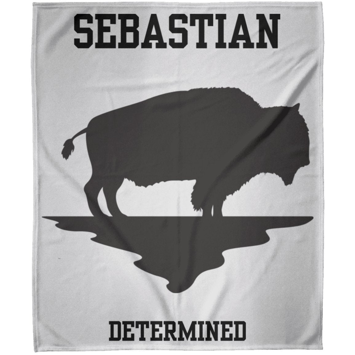 "Blankets ""Determined"" Personalized Arctic Fleece Blanket - ZERO TO THREE CLUB Blankets"