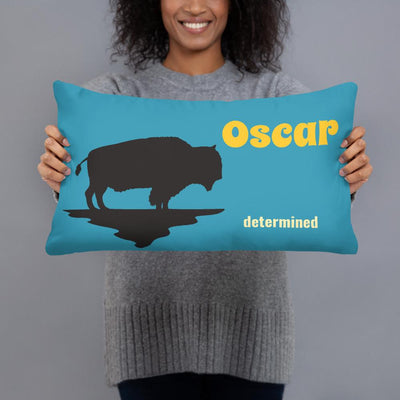 """Determined"" - Personalized - - Two sided Print - Pillow Case with Insert - ZERO TO THREE CLUB"
