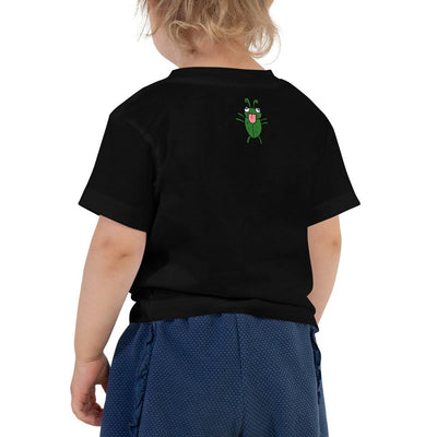 Funny Frog Short Sleeve Tee - 100% Softest Cotton - Front and Back Print - ZERO TO THREE CLUB