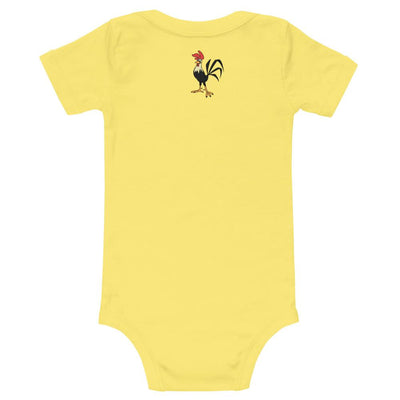 """Little Rooster"" - Short Sleeve Onesie - Softest Cotton - ZERO TO THREE CLUB"