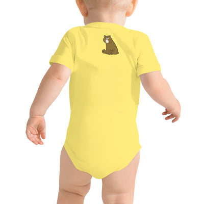 """Bear Love"" - Short Sleeve Onesie - Softest Cotton - ZERO TO THREE CLUB"