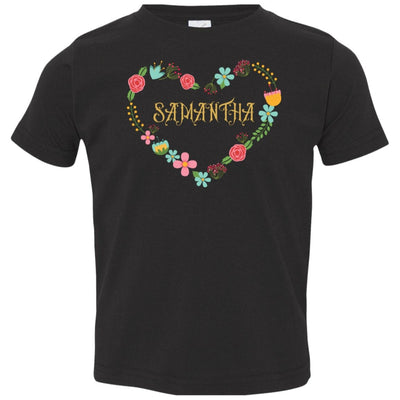 T-Shirts Personalized Floral T-Shirt - Customizable NAME - 6 colors - ZERO TO THREE CLUB T-Shirts