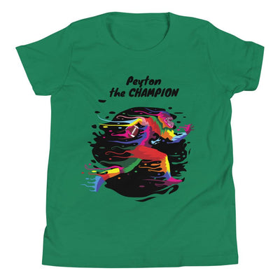 T-Shirt Personalized Football Champion Youth (Customize with Child's Name) - ZERO TO THREE CLUB T-Shirt