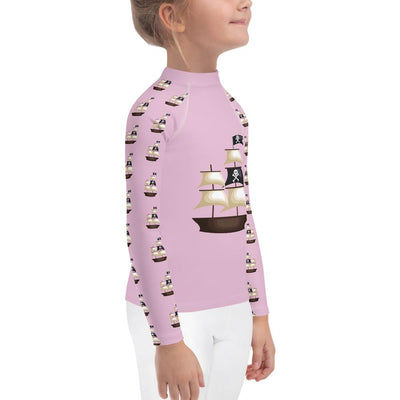 Pirate Ship on Pink Long Sleeve Top - Mix and Match Leggings - ZERO TO THREE CLUB