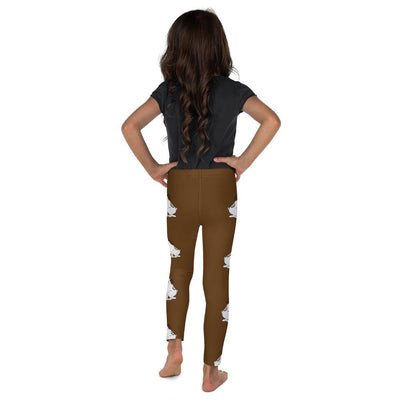 Puppy Love on Brown Leggings Mix and Match with Long Sleeve top - ZERO TO THREE CLUB