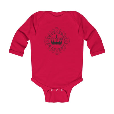 "Kids clothes ""Royal DNA"" Infant Long Sleeve Onesies - ZERO TO THREE CLUB Kids clothes"