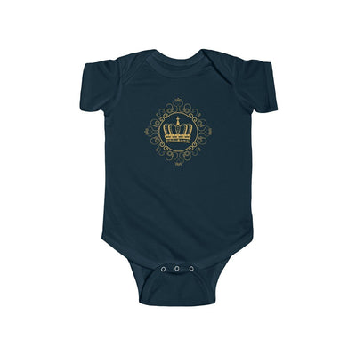 "Kids clothes ""Royal DNA"" Short Sleeve Infant Fine Jersey Onesie 7 colors - ZERO TO THREE CLUB Kids clothes"
