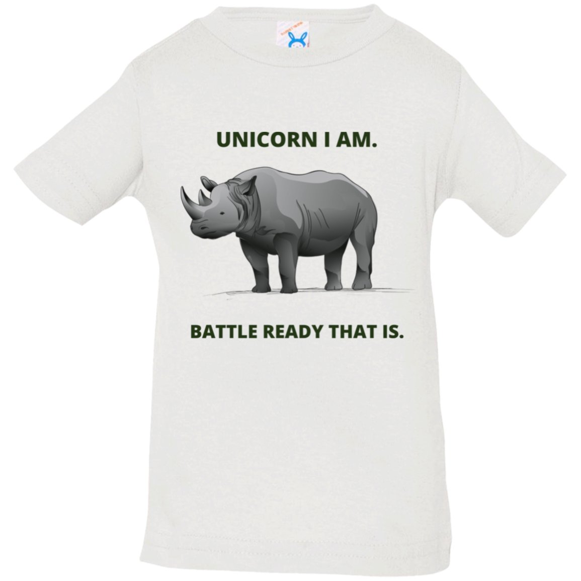 "T-Shirts ""Unicorn I am"" Short Sleeve T-Shirt - 4 colors - ZERO TO THREE CLUB T-Shirts"