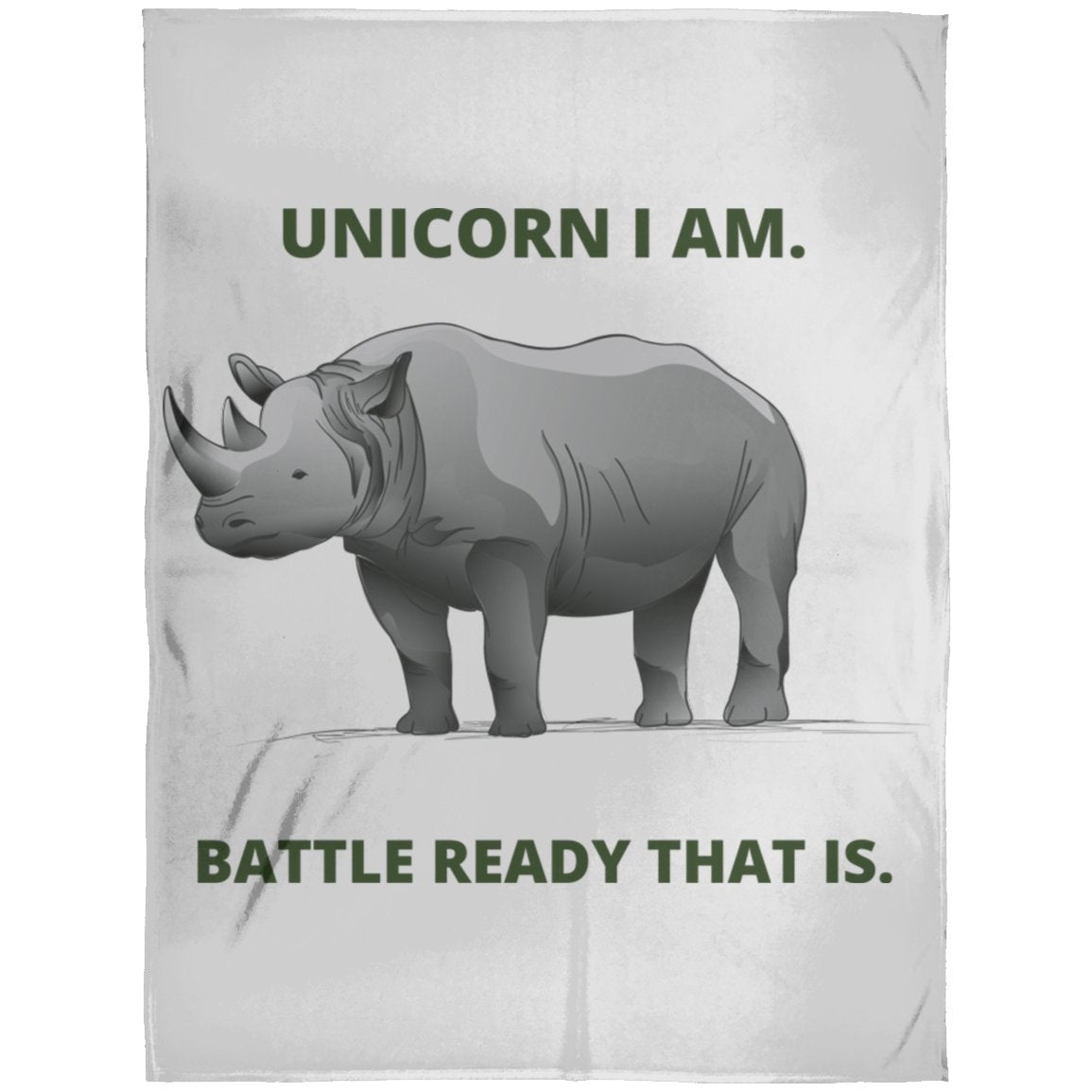 "Blankets ""Unicorn"" Premium Arctic Fleece Blanket - ZERO TO THREE CLUB Blankets"