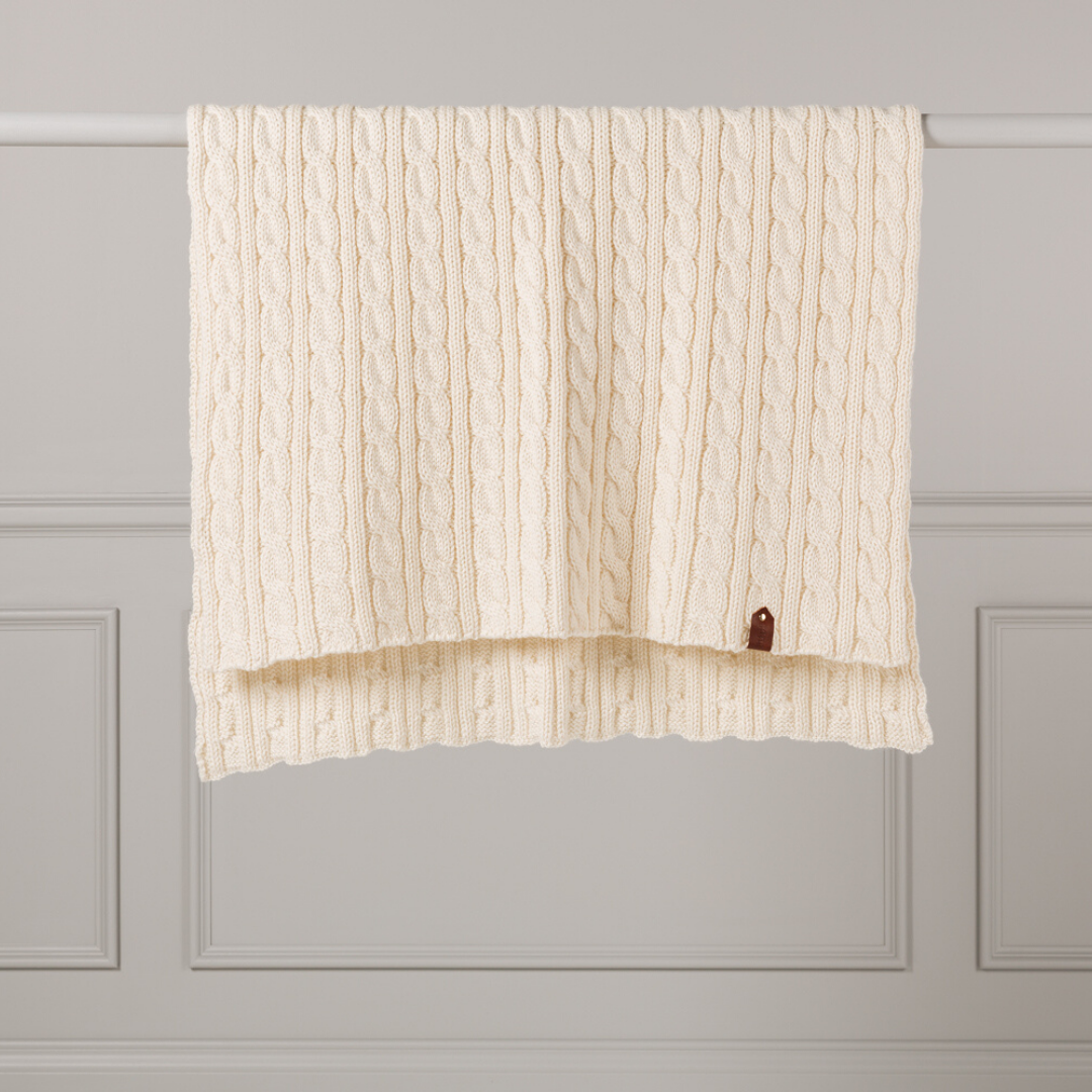 Cable Rib Limited Edition Throw