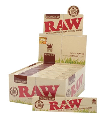 Raw Organic Kingsize Slim Box
