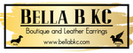 Bella B KC Boutique and Leather Earrings