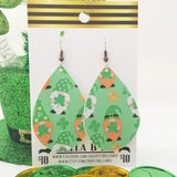 FAUX St. Patrick's Day Gnomes on Green