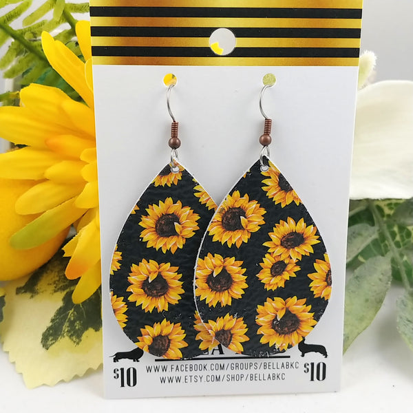 GENUINE Floral Sunflowers
