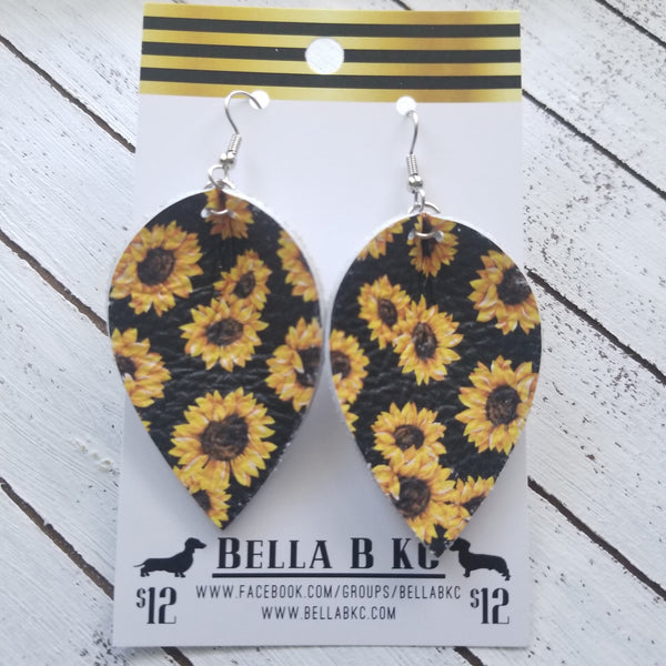 GENUINE Pinched Petal Floral Sunflowers