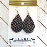 GENUINE Black and Platinum Fish Scales