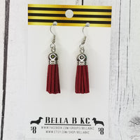Tassel - Dark Red