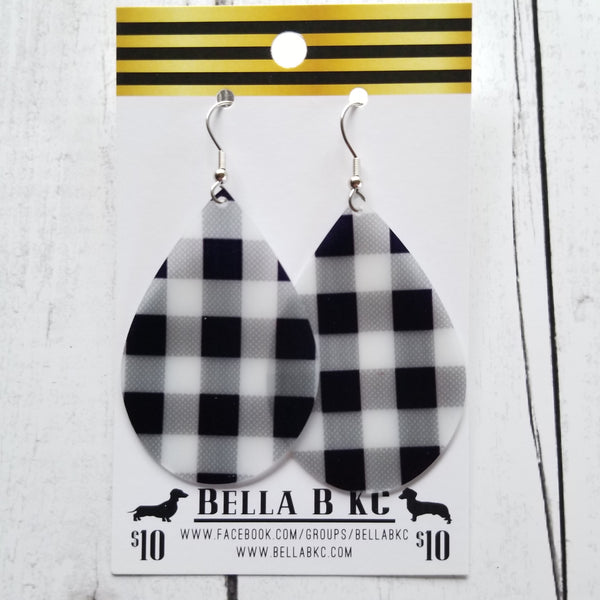 JELLY Black Buffalo Plaid