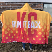 PREORDER - Cozy Cape - Yellow Run it Back KC