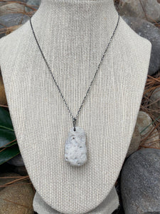Cayman Coral Pendant on aSterling Silver necklace