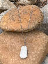 Load image into Gallery viewer, Cayman Coral Pendant on aSterling Silver necklace