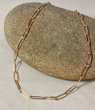 Load image into Gallery viewer, 14k Gold Filled Oval link necklace