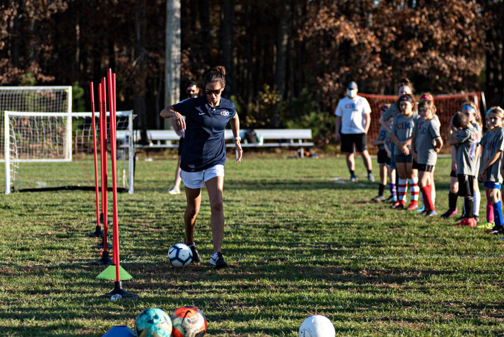 Carli Lloyd teaches, awes kids (and parents) at clinic in Mays Landing
